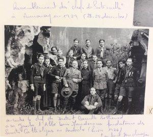 Scouts de France Annonay - 1929